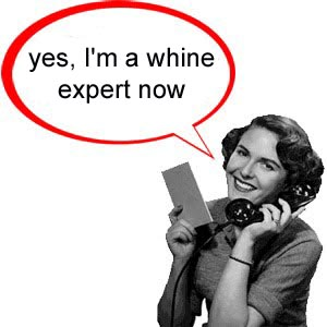 whine expert