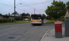 missed the bus for the last time